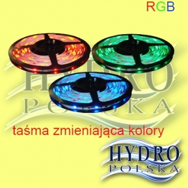 TAŚMA LED RGB (1-METR) IP-65 WODODPORNA