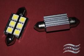Żarówka LED 2W 12V C5W RURKA 39mm biała zimna CAN.POSTOJÓWKI
