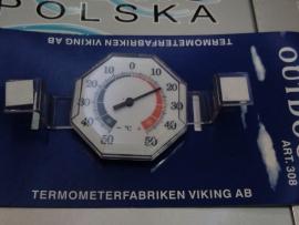 Termometr zewnętrzny zaokienny 308 tarczowy -50+50/c VIKING